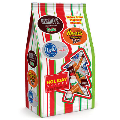 Hershey Holiday Shapes - 36 oz.