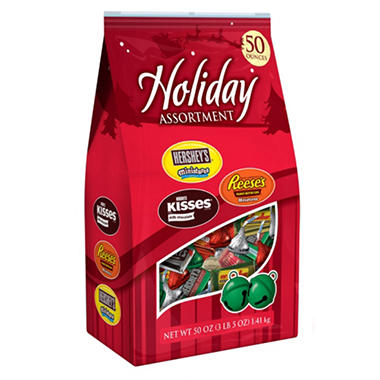 Hershey's Holiday Assortment Chocolates - 50 oz.