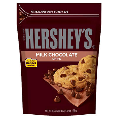 Hershey's Milk Chocolate Baking Chips - 36 oz.