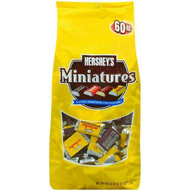 Hershey Asst. Miniatures - 60 oz.