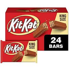 Kit Kat Milk Chocolate Bar, King Size (24 ct.)