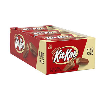 Kit Kat Milk Chocolate Bar, King Size (24 ct.)