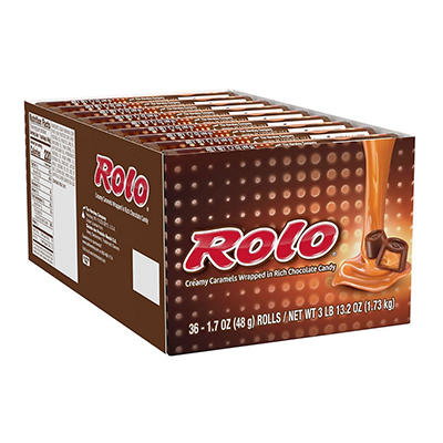 Rolo® Caramels in Chocolate - 36 / 1.7 oz. rolls