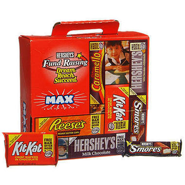 Hershey's� Fund Raising Max Assortment - 52 bars