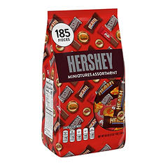 Hershey's Chocolate Miniatures Assortment (55 oz.)