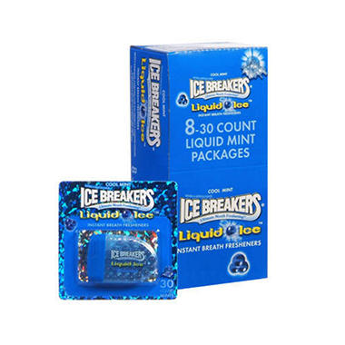 Ice Breakers® Liquid Ice™ Mint 8/30 Ct