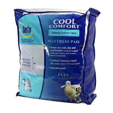 Serta Cool Comfort Mattress Pad Full Sam S Club