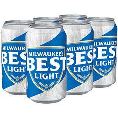 Milwaukee's Best Light Beer (12 fl. oz. cans, 6 pk.)