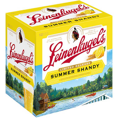 LEINE SUMMER SHANDY 12 / 12 OZ BOTTLES