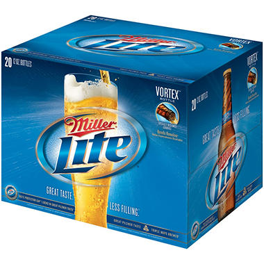 MILLER LITE 24 / 12 OZ BOTTLES