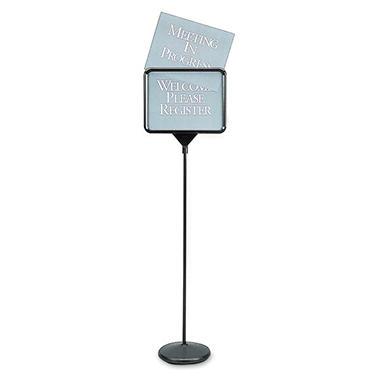 Quartet Free Standing Pedestal Sign