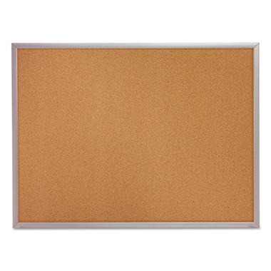 Quartet Classic Cork Bulletin Board, 24