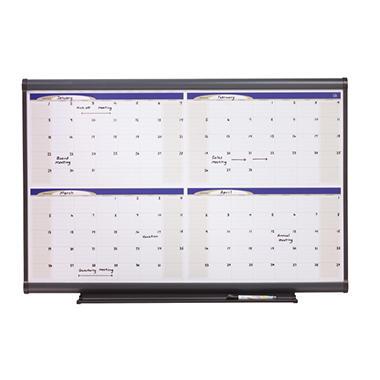 Quartet - Prestige Total Erase Monthly Calendar, 48