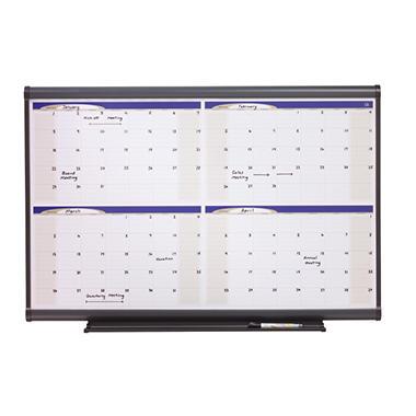 Quartet - Prestige Total Erase Monthly Calendar, 36
