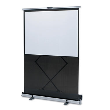 Quartet - Euro Portable Cinema Screen w/Black Carrying Case -  80