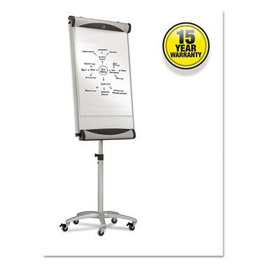 Quartet - Premium Mobile Magnetic Dry Erase Easel - White - 27