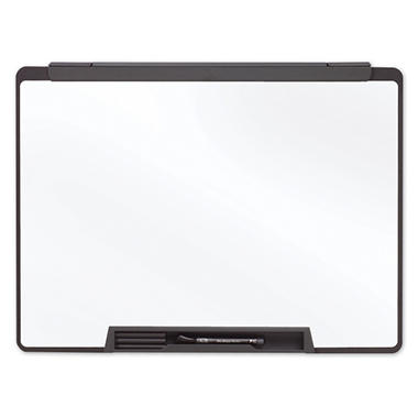 "Quartet - Motion Portable Dry Erase Board, 24"" x 18"", Black Frame"