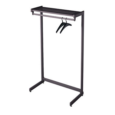 Quartet One-Shelf Garment Rack
