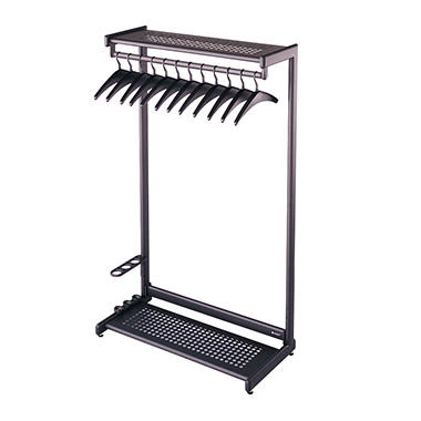 Quartet 2 Shelf Garment Rack