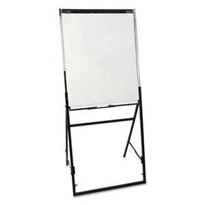 Quartet - Futura Dry Erase Presentation Easel, Melamine, 24 x 36, White -  Black Frame