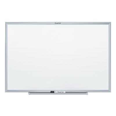 "Quartet - Standard Dry-Erase Board, 24"" x 18"", Aluminum Frame"