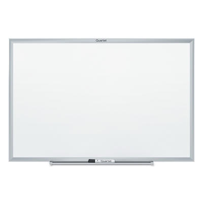 "Quartet - Standard Dry-Erase Board, 36"" x 24"", Aluminum Frame"
