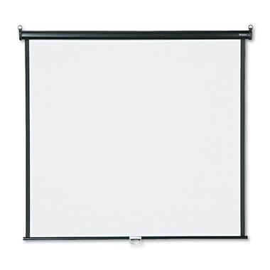 Quartet Wall or Ceiling Projection Screen, White Matte Screen, Choose Size