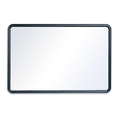 """Quartet - Contour Dry-Erase Board, 48"""" x 36"""", Gray Frame"""