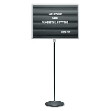 Quartet Adjustable Standing Mag. Letterboard