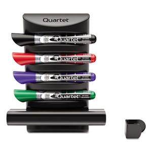 Quartet - Prestige 2 Connects Marker Caddy, 4 Chisel-Tip Markers -  Assorted
