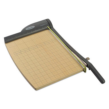 GBC ClassicCut Pro Paper Trimmer, 15 Sheets, Metal/Wood Composite Base, 12