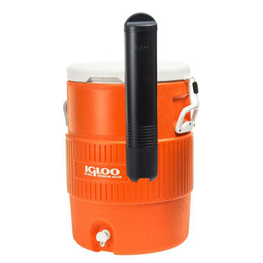 10 Gallon Seat Top Beverage Cooler - Orange