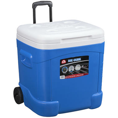 Igloo� Ice Cube Rolling Cooler - 60 qt.