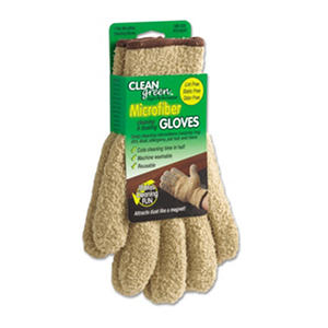 Master Caster CleanGreen Microfiber Cleaning and Dusting Gloves