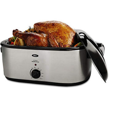 Oster® 22 qt. Stainless Steel Roaster Oven