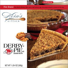 Derby Pie Chocolate Nut Pie - 20 oz.