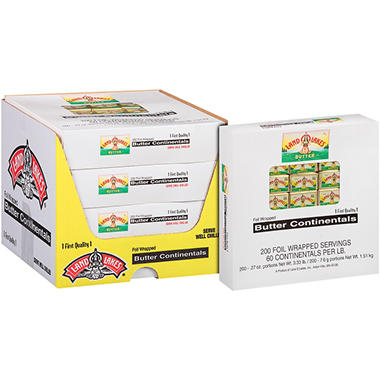 Land O'Lakes Butter Continentals 200 count