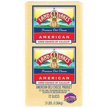 Land O'Lakes Deli White American Cheese - 3 lbs.