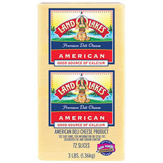Land O'Lakes Deli White American Cheese (3 lb.)