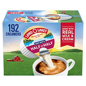 Land O'Lakes Mini Moo's Half & Half (192 Ct.)