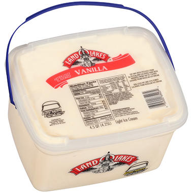 Land O' Lakes? Vanilla Light Ice Cream - 4.5 qt.