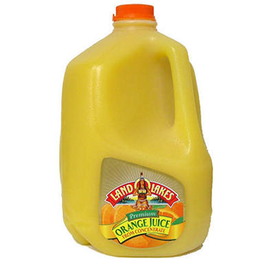 Land O Lakes® Orange Juice Pasteurized from Concentrate - 1 gal.