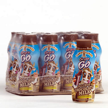 Land O'Lakes� Grip n' Go Chocolate Milk 12oz - 12 ct.