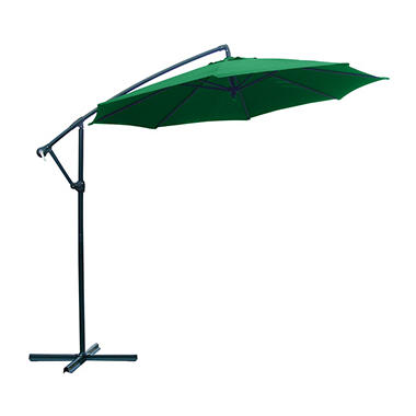 10' Offset Umbrella - Green