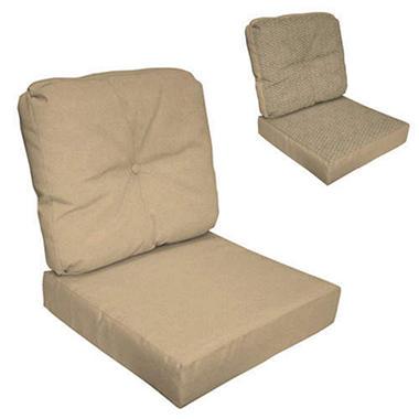 Deep Seat Set w/Button - Pebble - 2 pc.