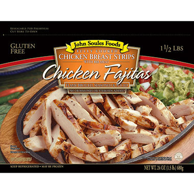 John Soules Chicken Fajita Meat - 24 oz.