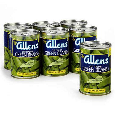 Allens Italian Green Beans - 6/14.5 oz.