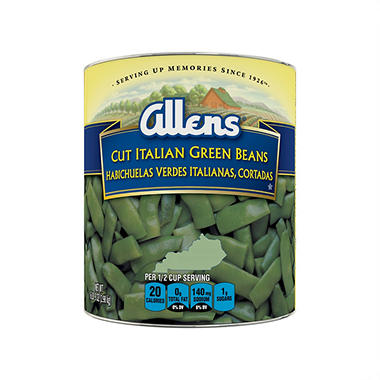 The Allens� Cut Italian Kentucky Wonder Style Green Beans - 104 oz.