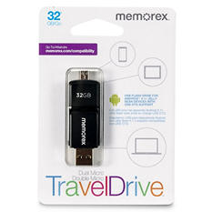 Memorex Dual Micro Travel Drive 32GB