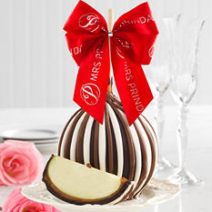 Mrs. Prindables Festive Triple Chocolate Jumbo Apple